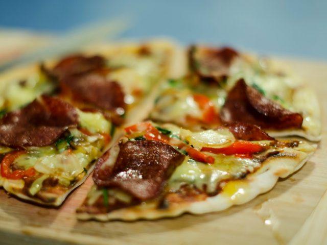 Faire ses propres pizzas en camping!
