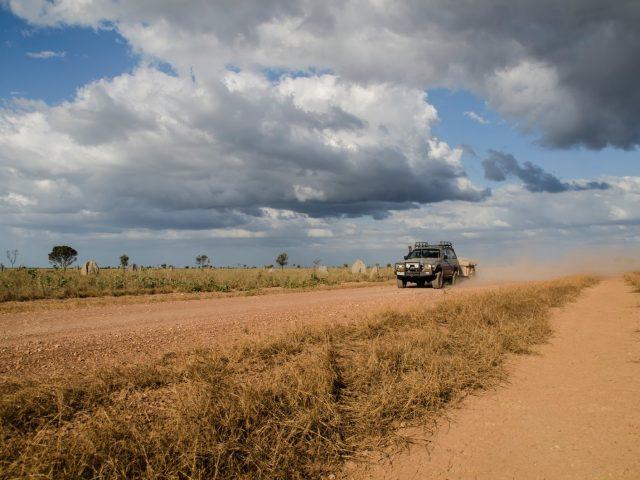 Un raid en 4×4 des plus aventureux au nord de l'Australie
