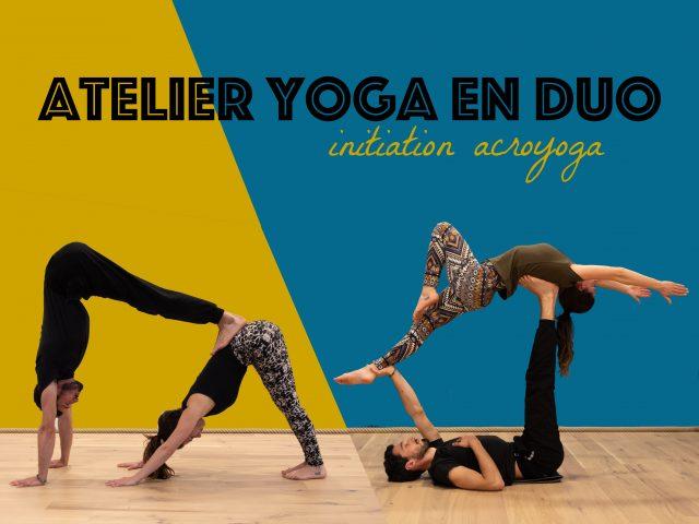 Atelier yoga en duo & initiation acroyoga