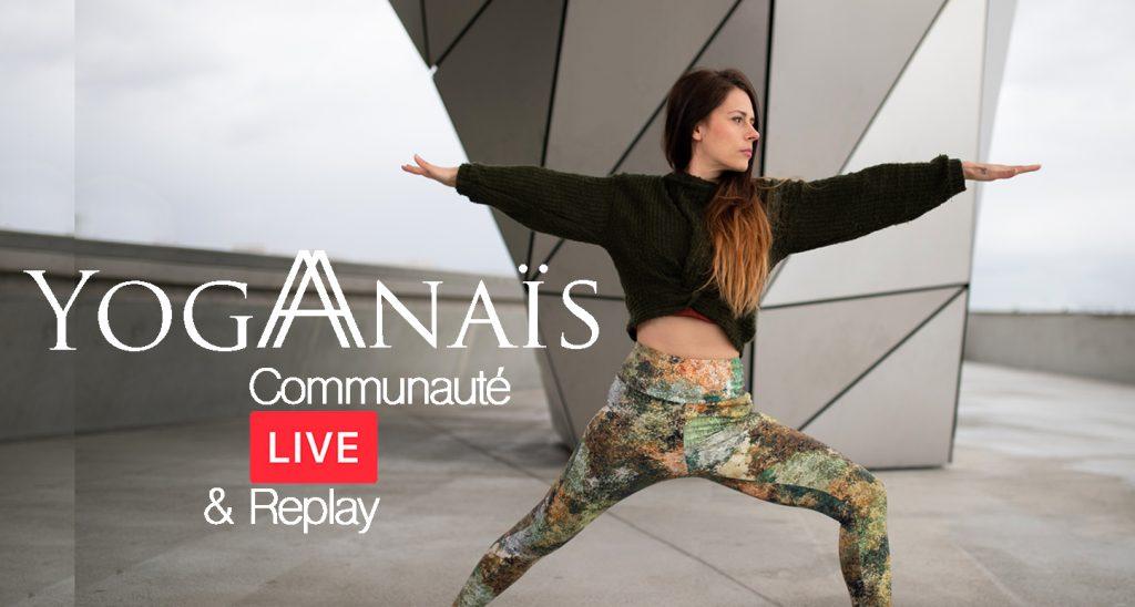communauté cours de Yoga en ligne