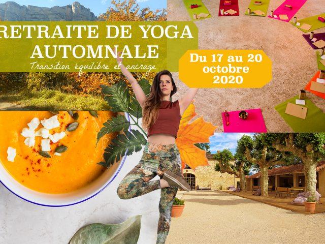 Retraite de Yoga Automnale – 4 jours en immersion