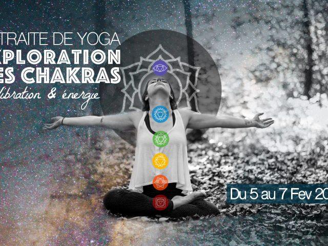 Retraite de Yoga – Exploration des chakras – 2 jours