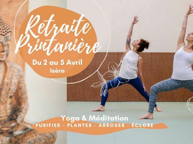 Retraite de Yoga printanière – Renaître après l'hiver – 3 jours (weekend de pâques)